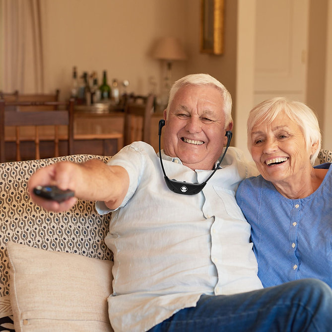 Erapanda Wireless TV Headphones for seniors to hear tv better