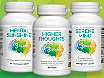 3 Brains supplements