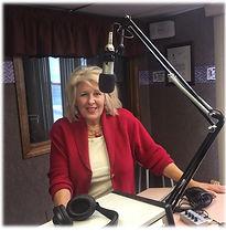 Basha in radio studio