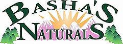 Basha's Naturals logo