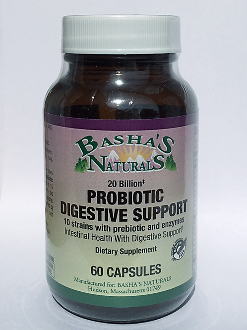 Probiotic Digestive Support from Basha's Naturals