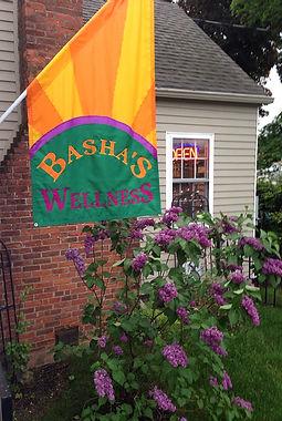 Basha's Wellness flag