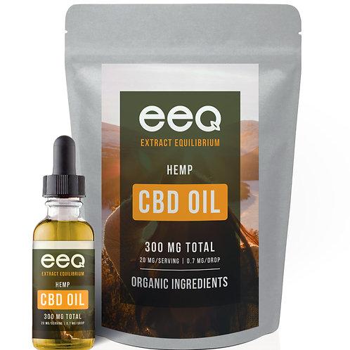 EEQ Cold Pressed Hemp Oil