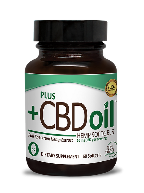 +CBD Full Spectrum Hemp Extract