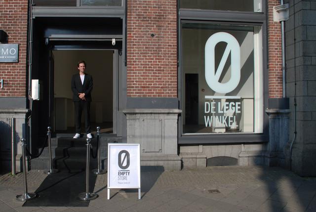 DE LEGE WINKEL - een winkel die handelt in leegte.