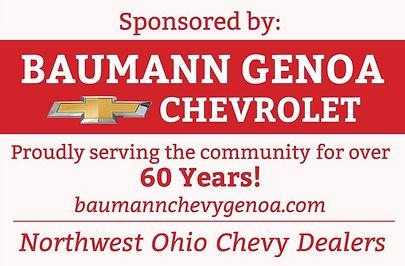 Baumann Genoa NW Ohio Chevy dealers logo