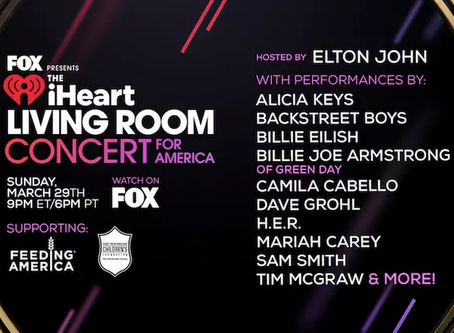 Thousands of socially distant stream IHeart FRCF Concert