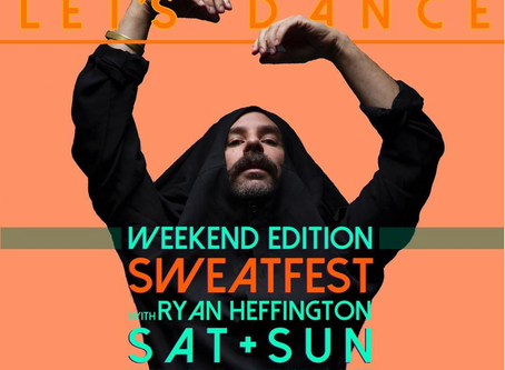 SweatFest returns to Instagram Live!