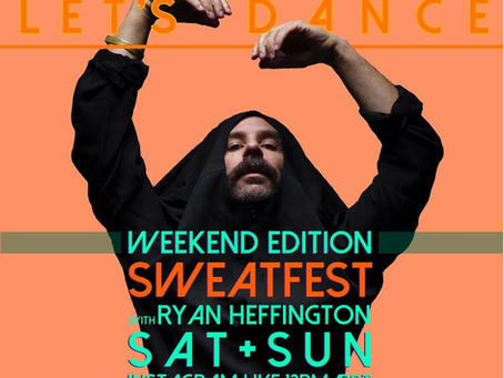 SweatFest returns to Instagram Live!
