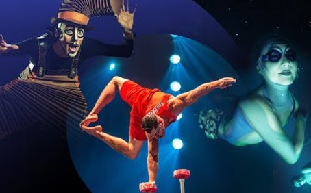 "Cirque Du Soleil presents: ""Let's Stay Connected"""