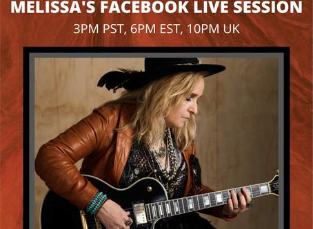 Melissa Etheridge FB Live
