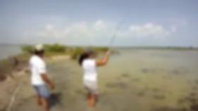 Bonefising Cozumel with Aquarius Fishing