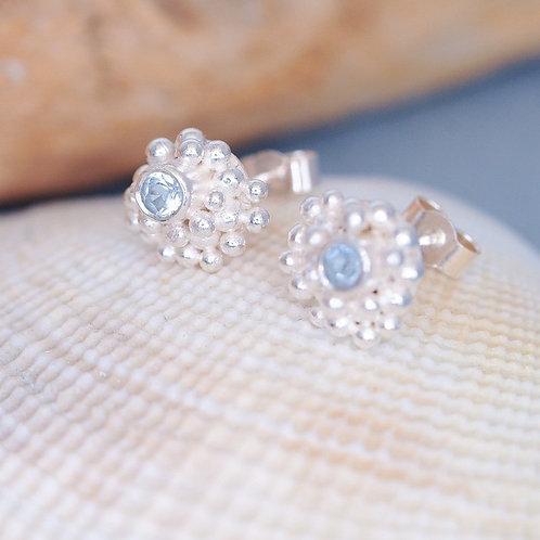 Tiny Bubbles Gemstone Studs