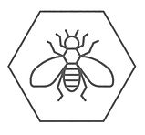 Honey Bee Design Logo