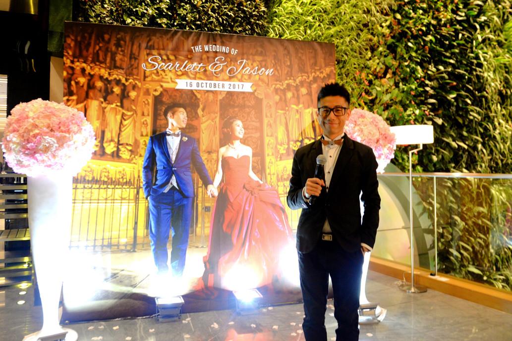 hotel icon 婚禮司儀Oliver MC Oliver 香港司儀Oliver 澳門司儀Oliver 自拍 新人 氣氛高手 婚禮達人
