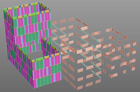 Knowledge Bridge is a configuration engine for complex curtain wall and building facade systems