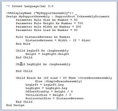 An example of an Intent Language IKS file ready to be converted to Knowledge Bridge.