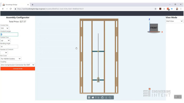 Electrical Stub-out Configurator