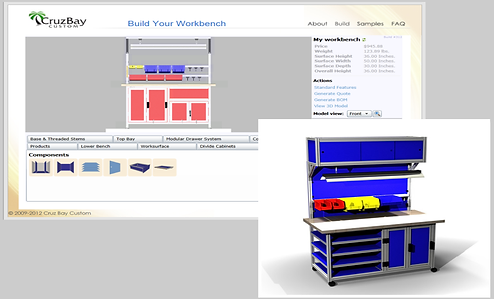 Knowledge Bridge is a configuration engine for complex commercial furniture
