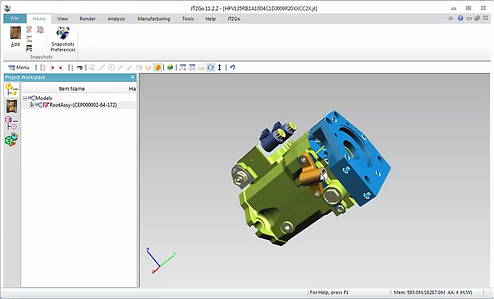Knowledge Bridge is a configuration engine for complex hydraulic pumps