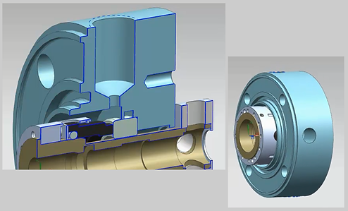 Knowledge Bridge is a configuration engine for specialized complex components such as high-pressure seals