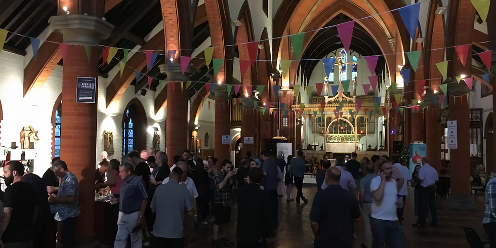 3-4pm KJF at St Saviours' BEER&FIZZ FEST opening tea party