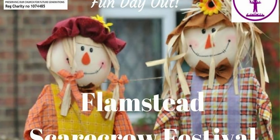 KJF perform at FLAMSTEAD SCARECROW FESTIVAL approx 2-5pm AL3 8BS