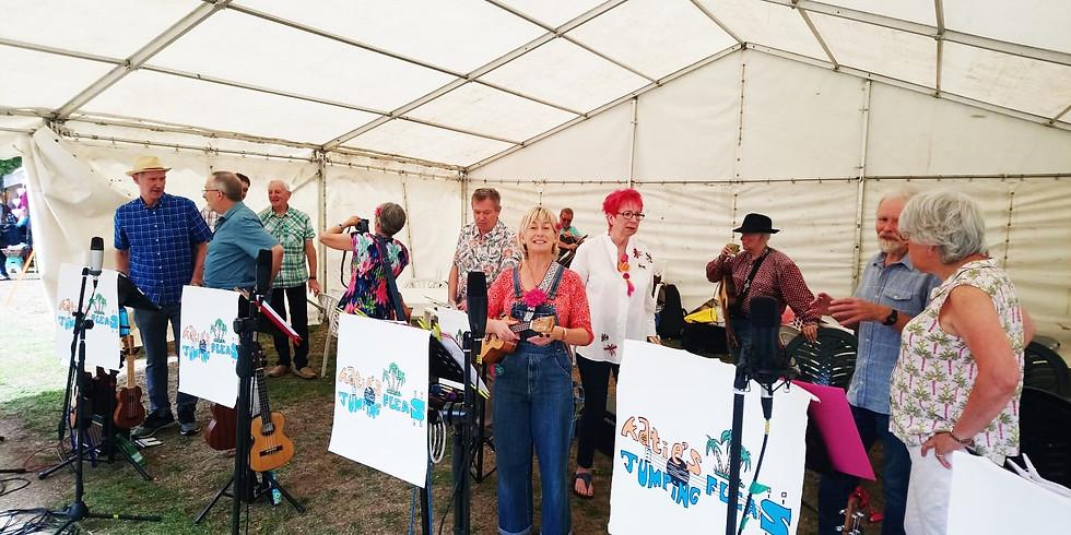KJF @ 'IOF Fringe' Garden Party - Vintry Garden 4pm Final Fringe event