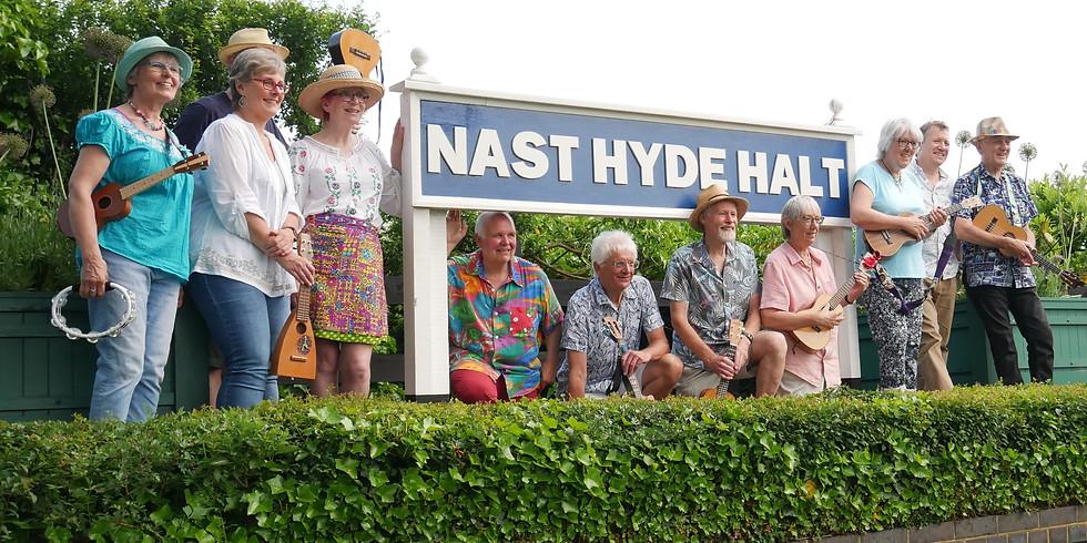 3-5pm FLEAS at Nast Hyde Halt, Ellenbrook Lane AL10 9NT - the Alban Way