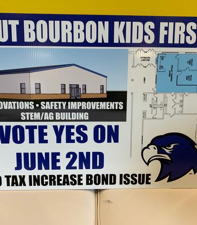 Bourbon School Vote
