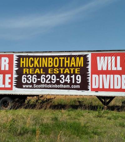 Hickinbotham Custom Large Banner