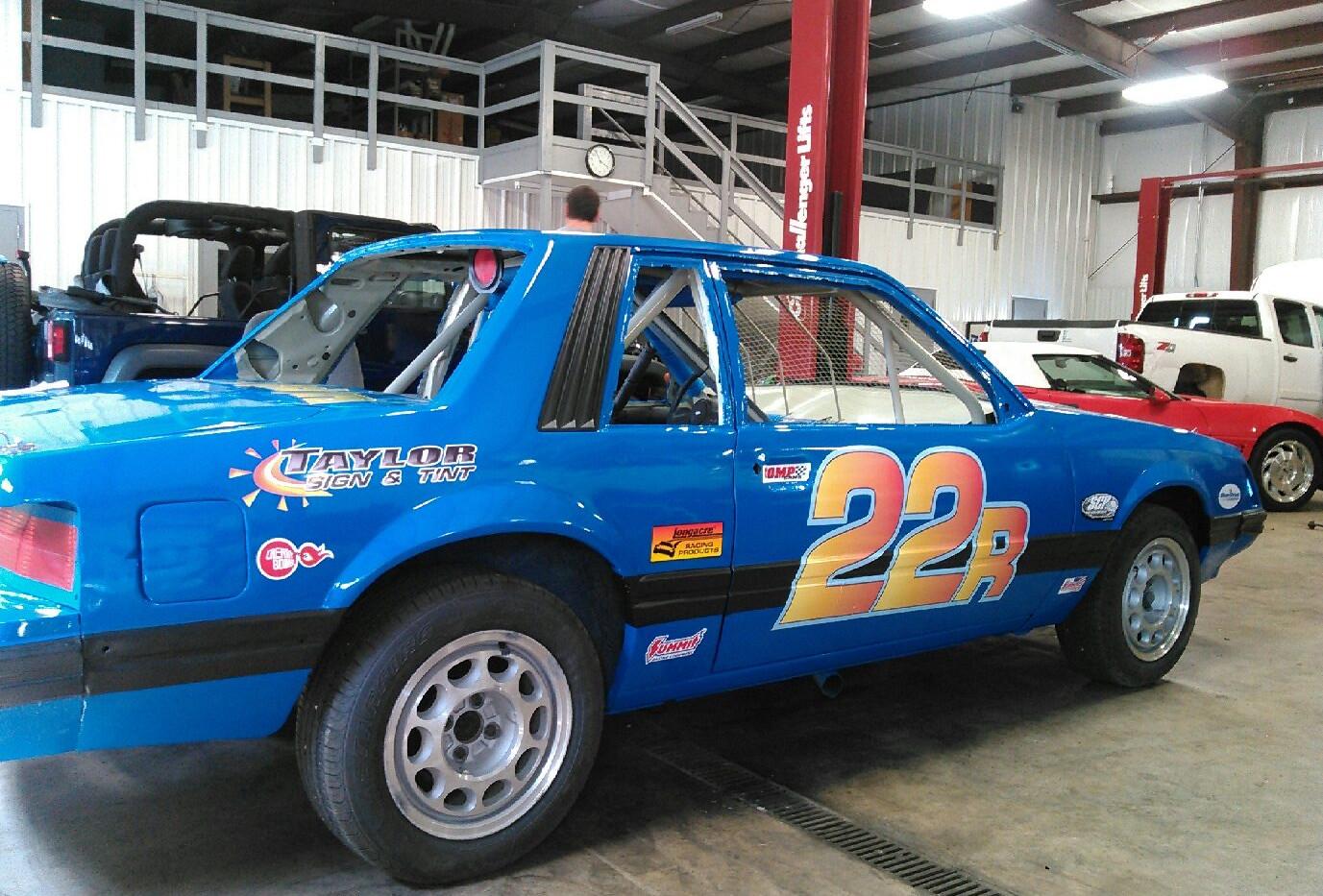 TST Racecar Wrap