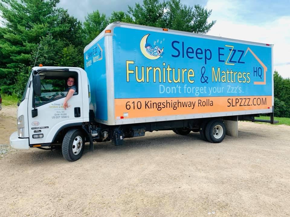 Sleep Ezz Box Truck Wrap
