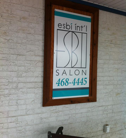 Salon Building Signs