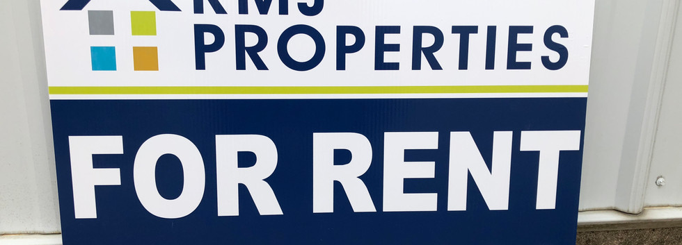 Realestate Yard Sign