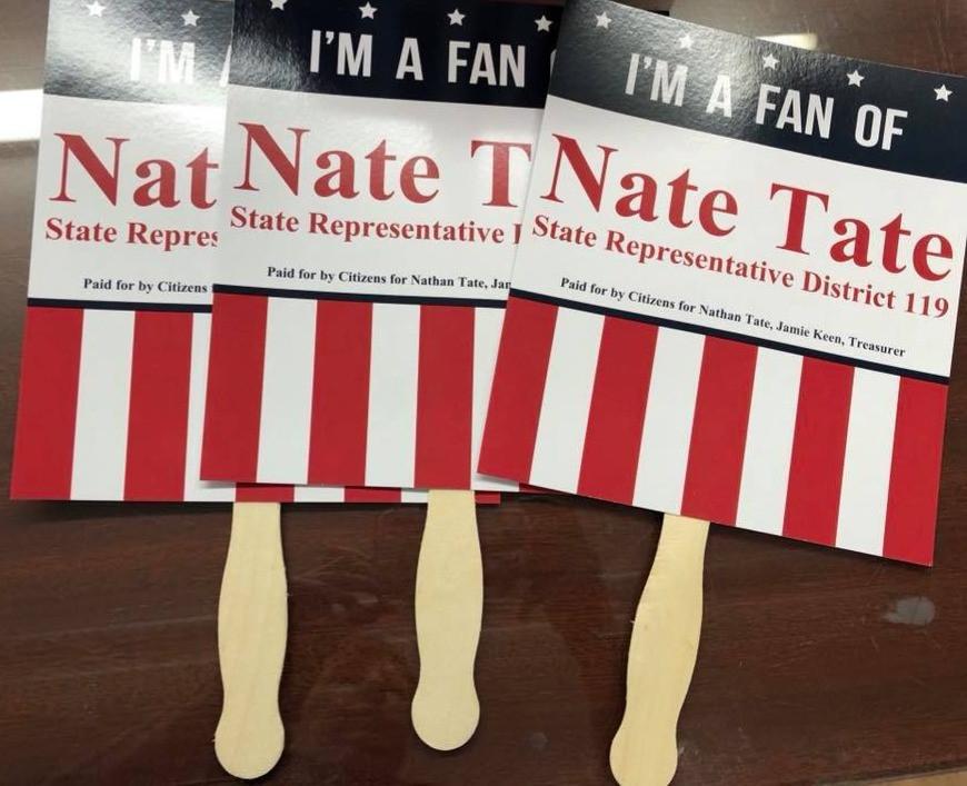 Tate Political Fans