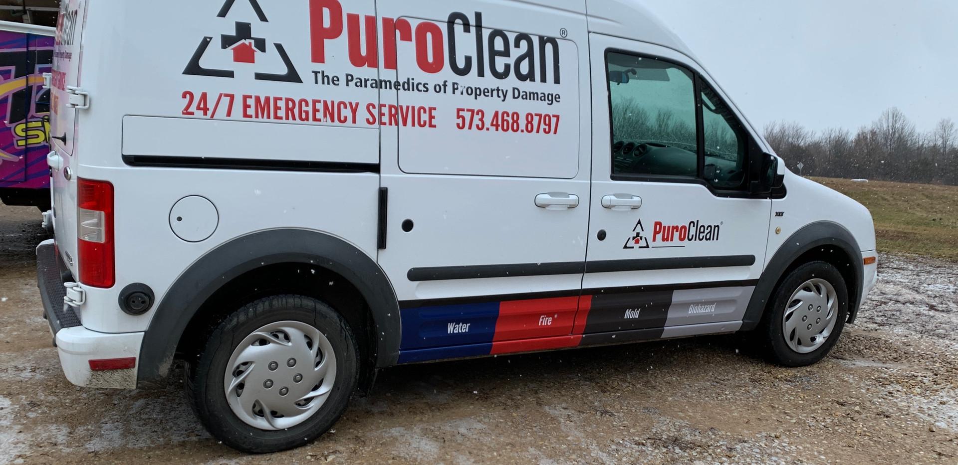 PuroClean Fleet Van
