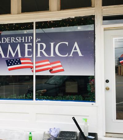 political storefront