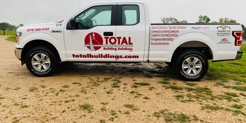 Total Builing Truck Graphics