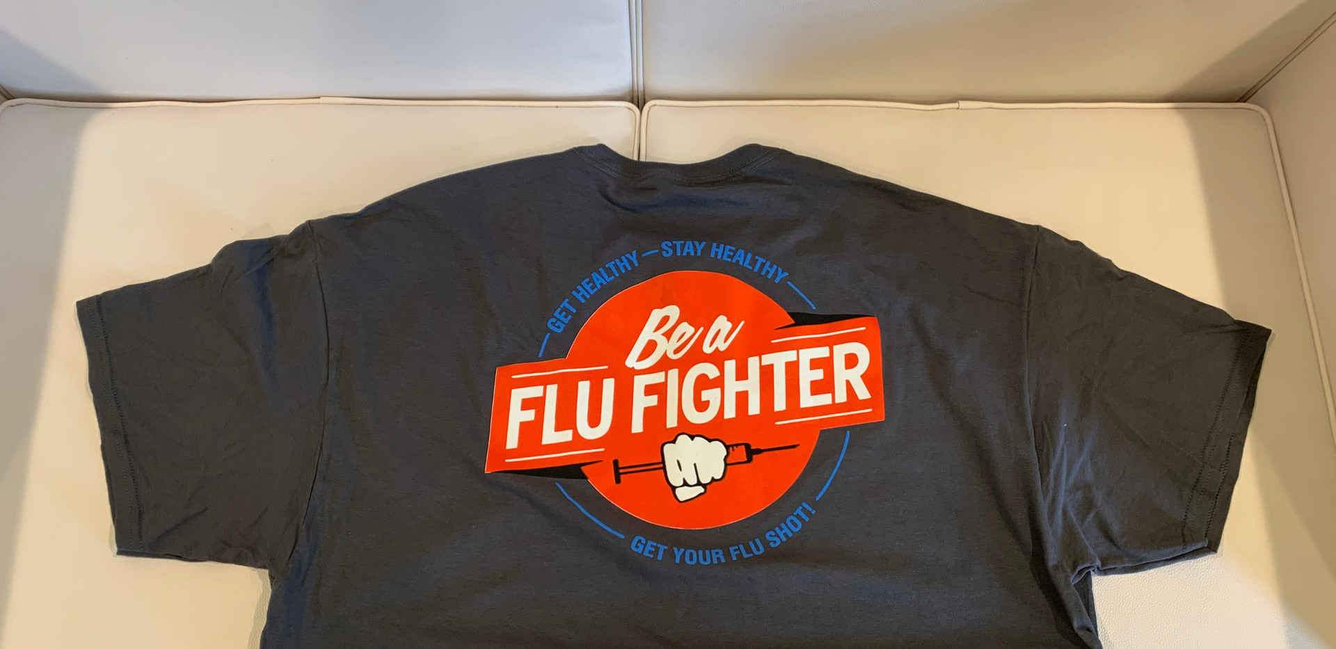 Flu Fighter COMC Tee