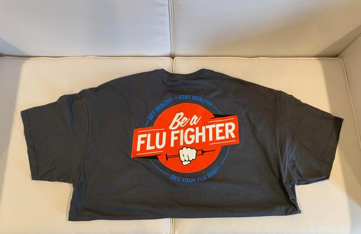 Flu Fighter COMC Tee