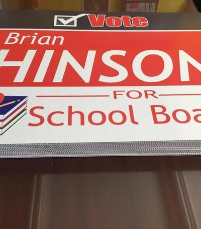 Hinson Yard Signs