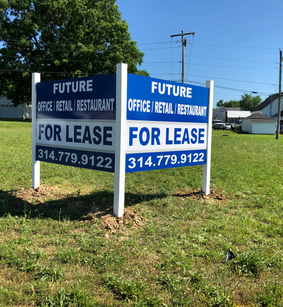 For Lease Post Sign