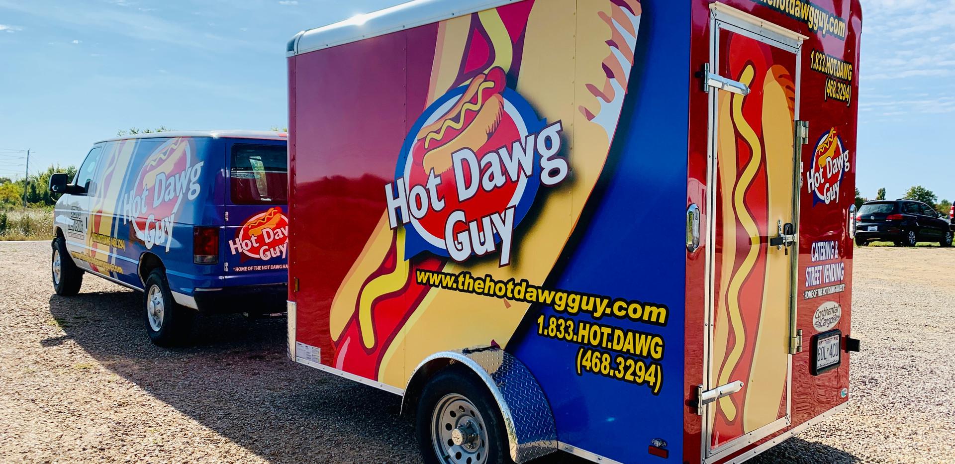 Hot Dawg Guy Trailer Wrap