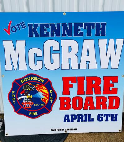 McGraw Sign
