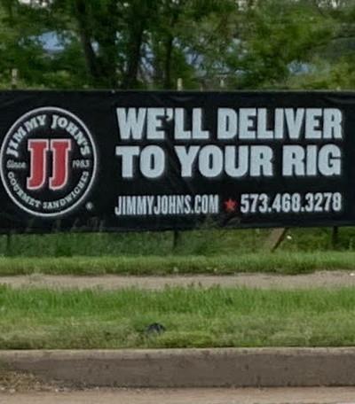 Jimmy Johns Banner