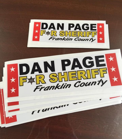 Page Bumper Stickers
