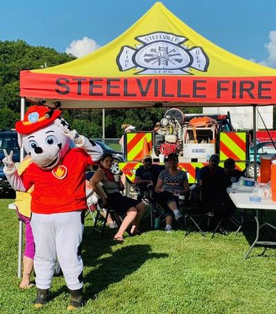 Steelville Fire Dept. Tent