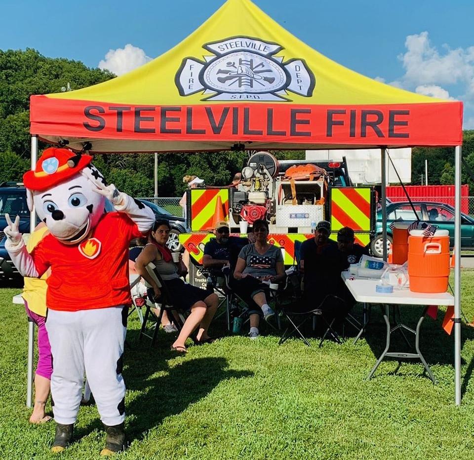 Steelville Fire Tent