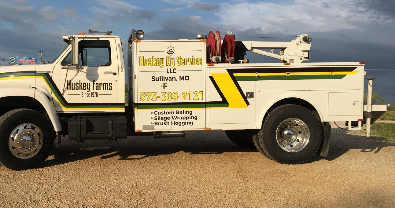 Huskey Farms Truck Graphics
